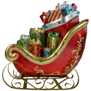 Sleigh Gifts Poly