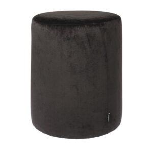 Pouf Chelsea black 50cm