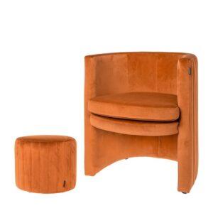 Chair Julie brique 76cm