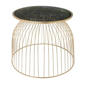 Side table Ise gold 54cm
