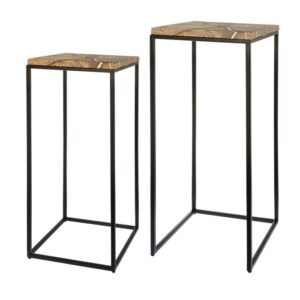 Side table set Fre marble 75cm