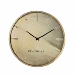 Wall clock Chuck bronze 50cm