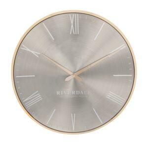 Wall clock Milena oystergold 40 SO