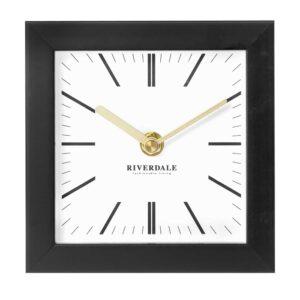 Table clock Micky black 14cm