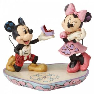A Magical Moment (Mickey Mouse Proposing to Minnie Mouse Figurine)