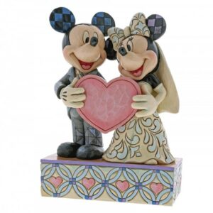 Two Souls, One Heart - Mickey Mouse & Minnie Mouse Figurine