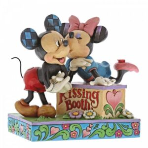Kissing Booth - Mickey Mouse & Minnie Mouse Figurine