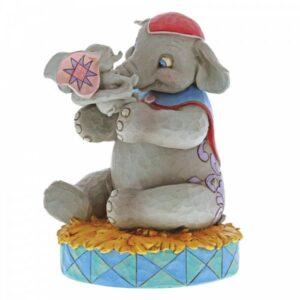 A Mother's Unconditional Love - Mrs. Jumbo & Dumbo Figurine