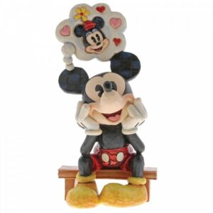 Thinking of You - Mickey Mouse Figurine