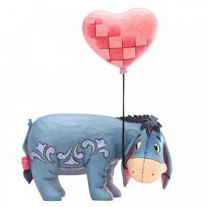Love Floats - Eeyore with Heart Balloon Figurine