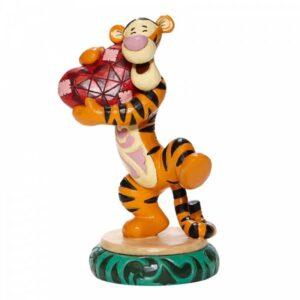 Heartfelt Hug - Tigger Holding Heart Figurine