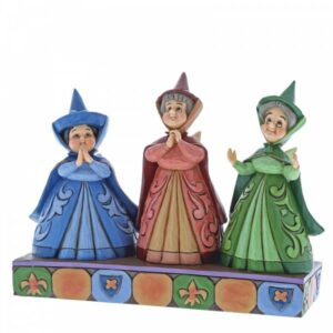 Royal Guests -Three Fairies Figurine