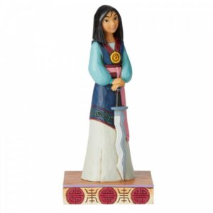 Winsome Warrier - Mulan Princess Passion Figurine