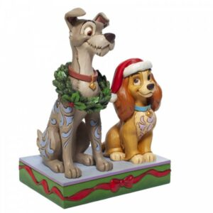 Decked Out Dogs (Lady & the Tramp Figurine)