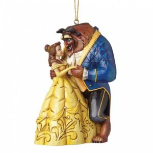 Beauty & The Beast - Hanging Ornament