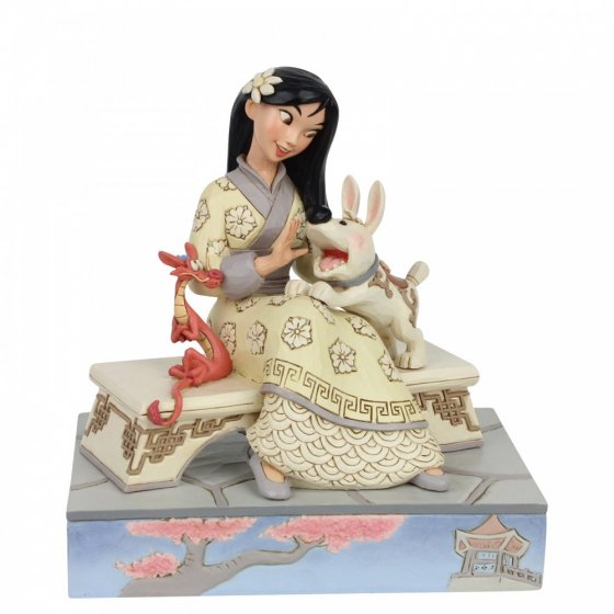 Honourable Heroine - White Woodland Mulan Figurine