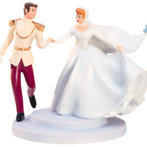 """Prince Charming and Cinderella cake topper """"""""Fairy tale wedding"""""""""""