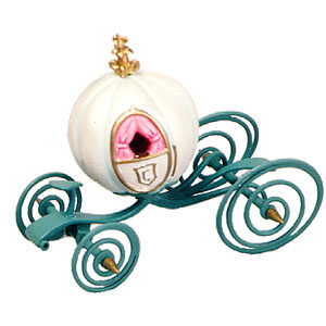 "Cinderella's coach ornament """"An elegant coach for Cinderella"""""