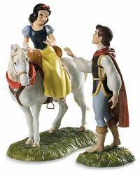 SNOW WHITE WITH PRINCE AND AWAY TO HIS CASTLE WE GO