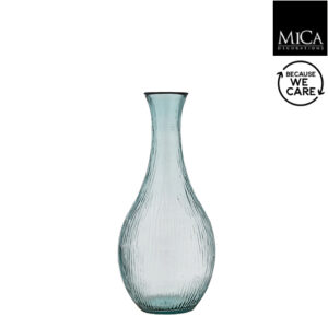 Dix vaas glas - H75xD34cm
