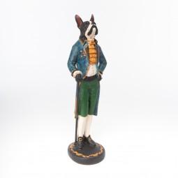 Hond staand met wandelstok H48,5cm