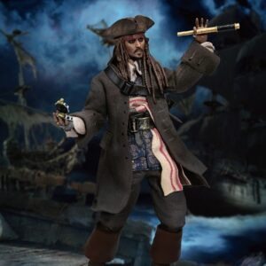 Disney: Pirates of the Caribbean - Captain Jack Sparrow 1:9 Scale Acti