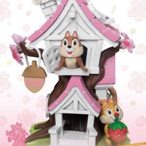 Disney: Chip 'n' Dale Cherry Blossom Treehouse PVC Diorama