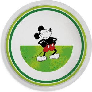 PIZZA PLATE MICKEY I AM GREEN D.31