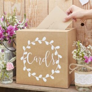 Rustic Country - Card Holder Box